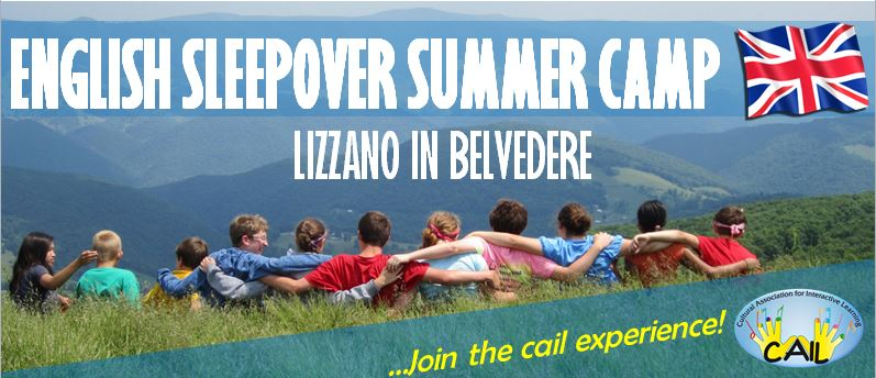 ENGLISH SLEEPOVER SUMMER CAMP – Vacanza Studio in Montagna a Lizzano in Belvedere!