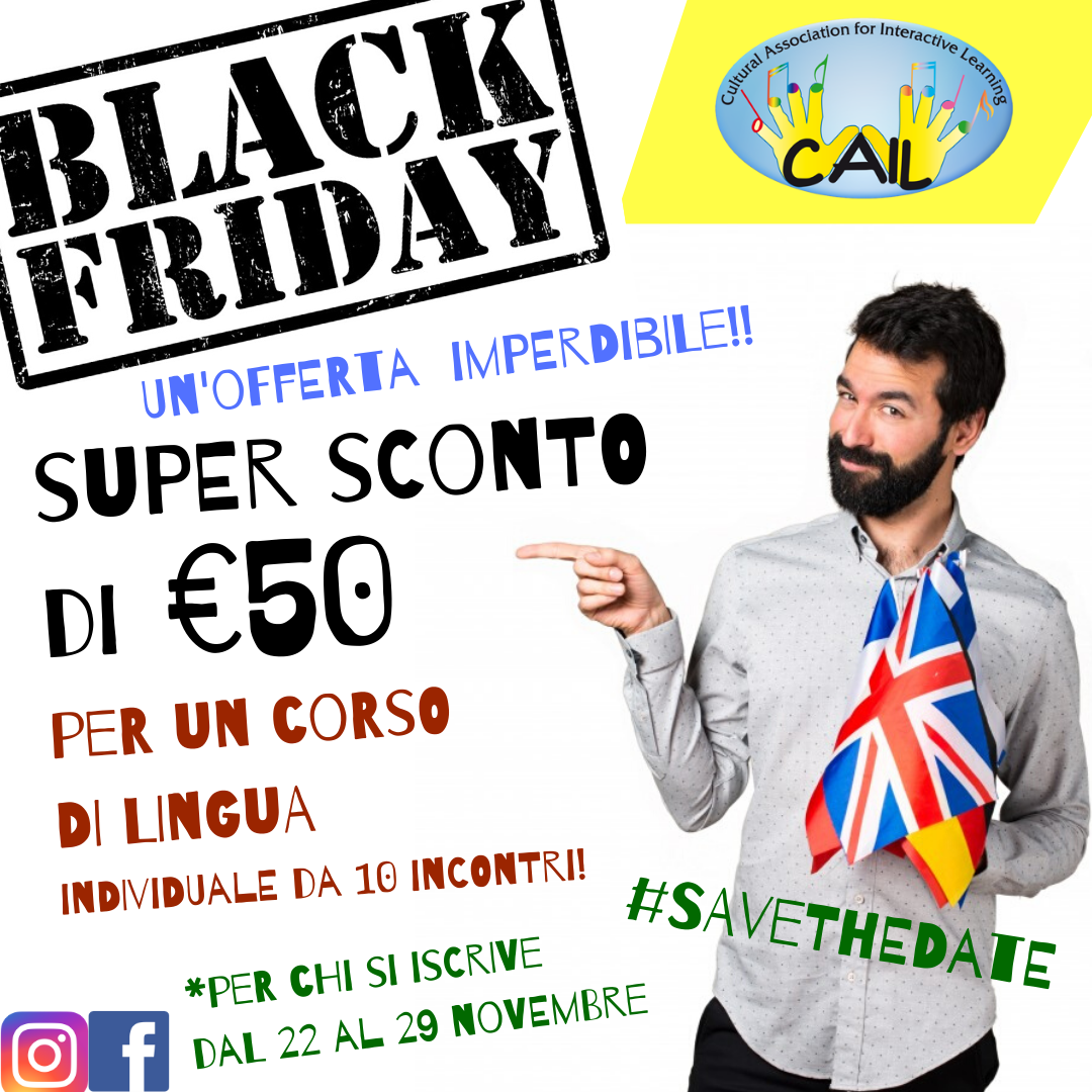 Il Black Friday sta arrivando!