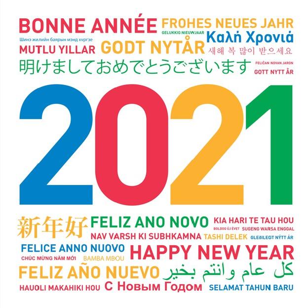 Nuovo anno, nuove lingue! Cominciamo il 2021 alla grande con tanti corsi e iniziative per bambini e adulti!